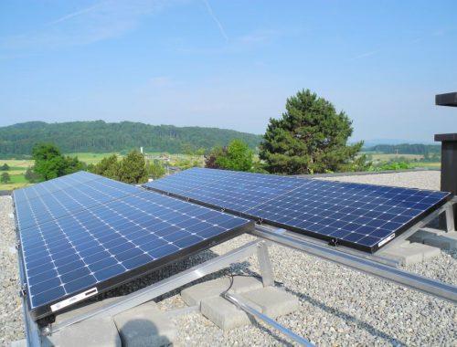 Solaranlage Wettswil